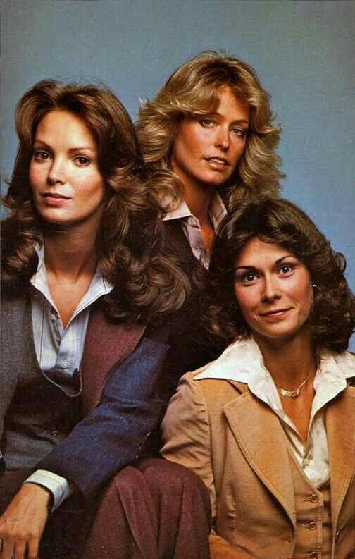70's Charlie's Angels (Farrah Fawcett, Jaclyn Smith and Kate Jackson)