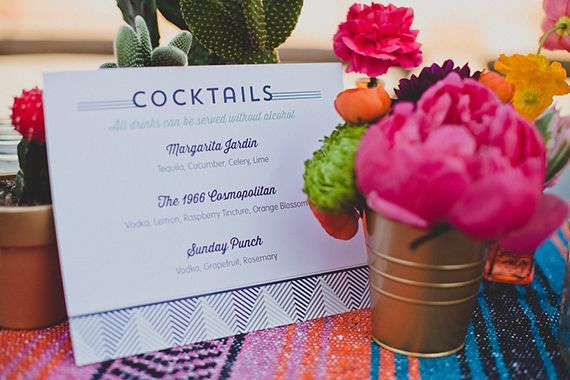 Mexican themed California wedding | photo by Wild Whim Design | 100 Layer Cake