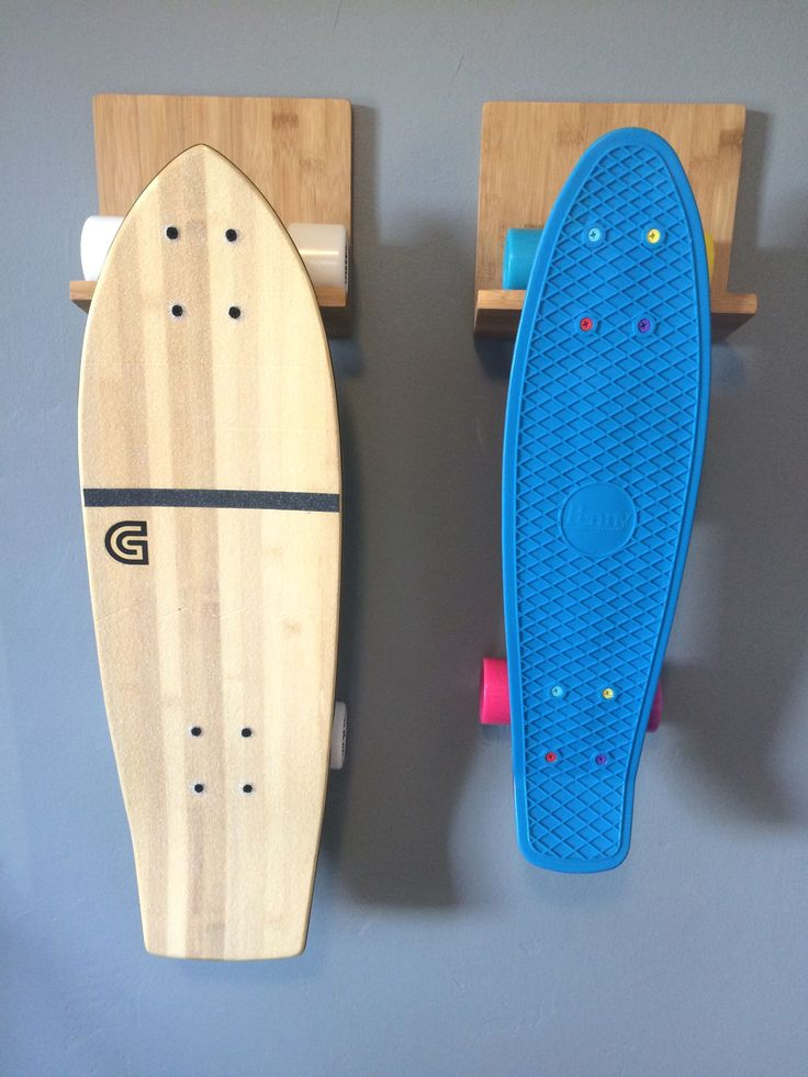 The COR #skateboard rack work with all types of boards. Longboards, penny boards and freestyle.