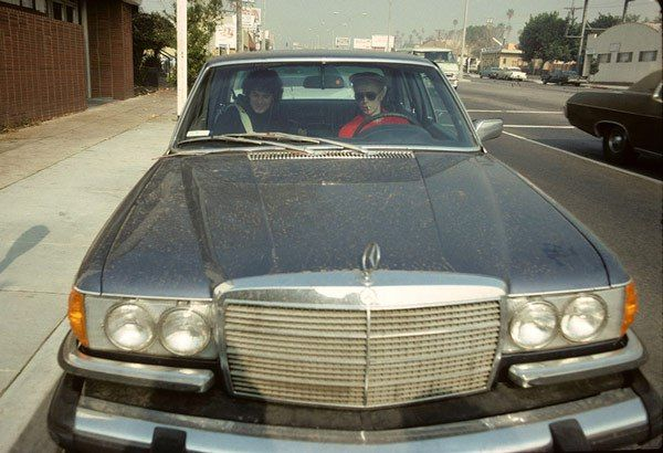 Bowie drives.