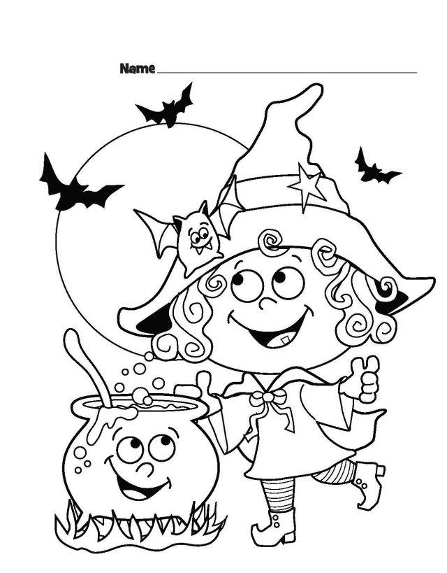 25 Halloween Bilder Zum Ausmalen Kostenlos Ausdrucken Bilder