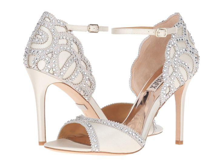 ROXY - Badgley Mischka Bridal Shoes: Bravado Down the Wedding Aisle https://www.loveandlavender.com/2018/01/badgley-mischka-bridal-shoes/