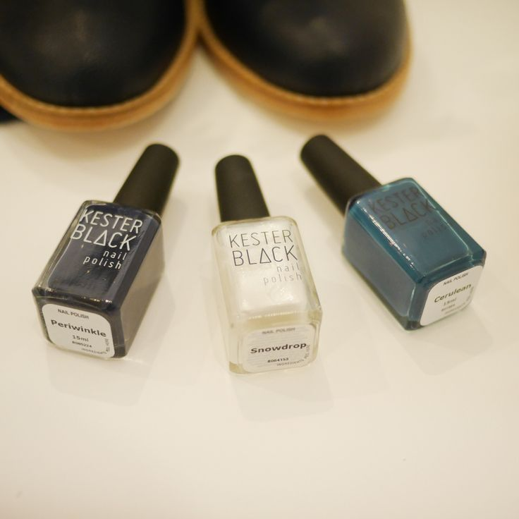 Nail polishes with no nasties?  Kester Black knows how to do it right!!  http://store.aquirkoffate.com/brand/kester-black