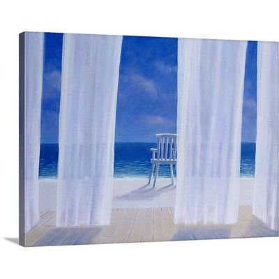 Canvas On Demand Cabana, 2005 by Lincoln Seligman Painting Print on Canvas