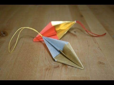 Christmas origami: Simple ornament