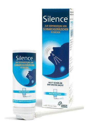 Rachenspray gegen Schnarchen
