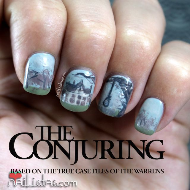 The Conjuring | Nail Art