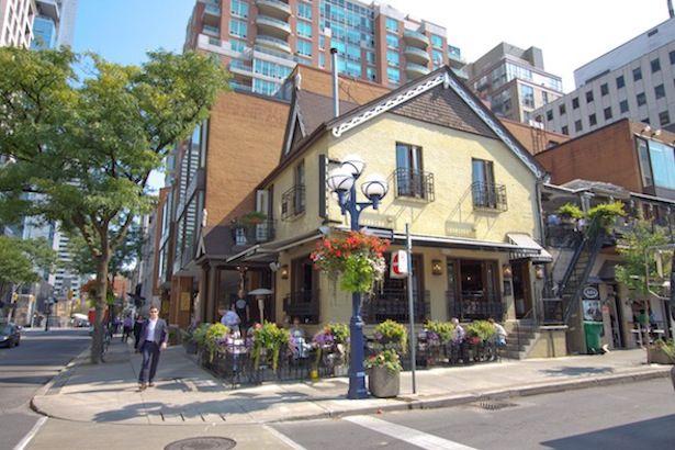 Trattoria Nervosa Yorkville Toronto