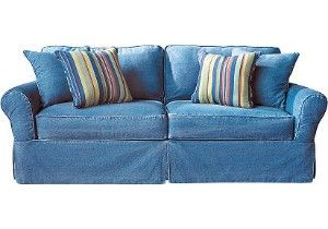 Nothing better than a denim couch.