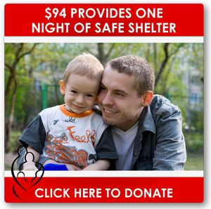 For about the amount you spend on 2 tanks of gas, you can give someone fleeing their abuser one night in our safe emergency shelter.
