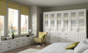 Super White Bedroom Doors - By BA Components