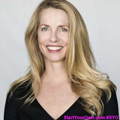 Laurene Powell Jobs is an American heiress; business executive; and the founder of Emerson Collective, which advocates for policies concerning education and immigration reform, social justice, and environmental conservation.As of 2015, she is ranked the 45th richest person in the world by Forbes.  #StartYourOwn #SYO #business #LaurenePowell #SteveJobs #business #American #entrepreneurship #rich #successful #hardwork #champion #life #inspire