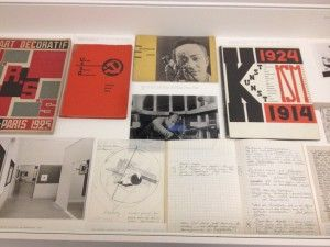 Van Abbemuseum displays archival material as a part of museum installations. There's even a DIY Archive where visitors can put together their own collections of archival material for display.