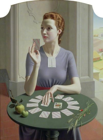 A Game of Patience by Meredith Frampton