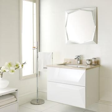 Modern Solid Wood Bathroom Cabinet Manufacturer From Foshan China