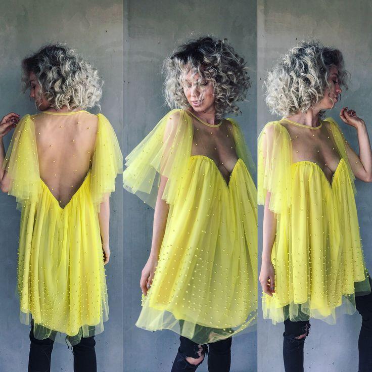 Lemonade dress by Laura Ion / Laura Ion fashion