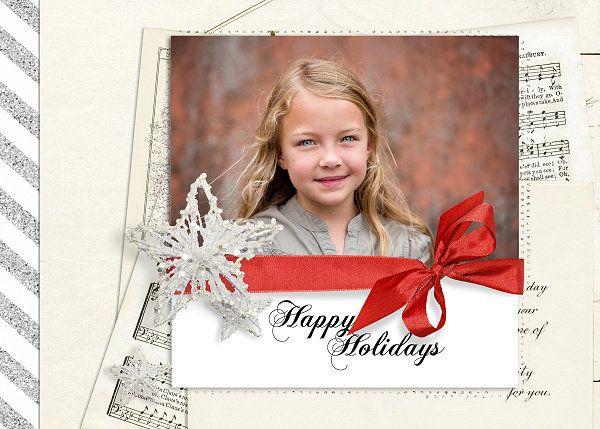 Scrapbookgraphics.com :: Holidays :: Christmas :: Holiday cards 2014 II.
