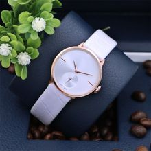 2015 New Luxury Brand Ladies Quartz Watch Women Dress Watches Women Full Steel Watch  Casual Clock Female With PU leather Band
