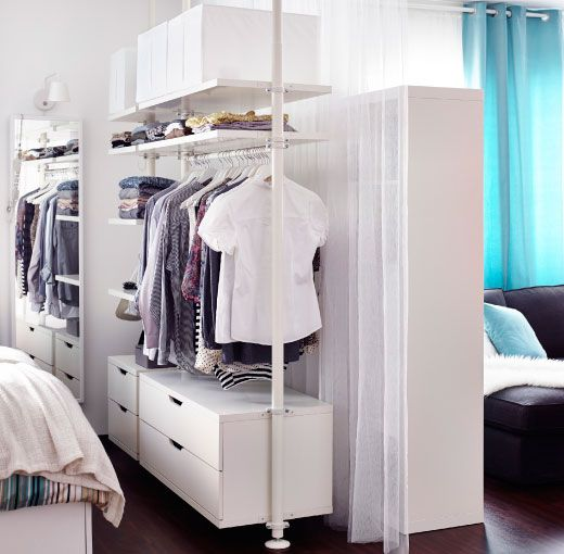 Studio Apartment Closet Ideas 57 best living small images on pinterest | home, apartment ideas