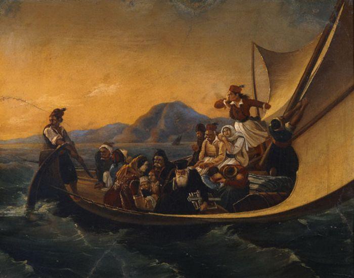 Τσόκος Διονύσιος – Dionysios Tsokos [1820-1862] |Ηφυγή από την Πάτρα