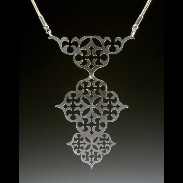 Janet Huddie, Ornament Series Necklace 1,