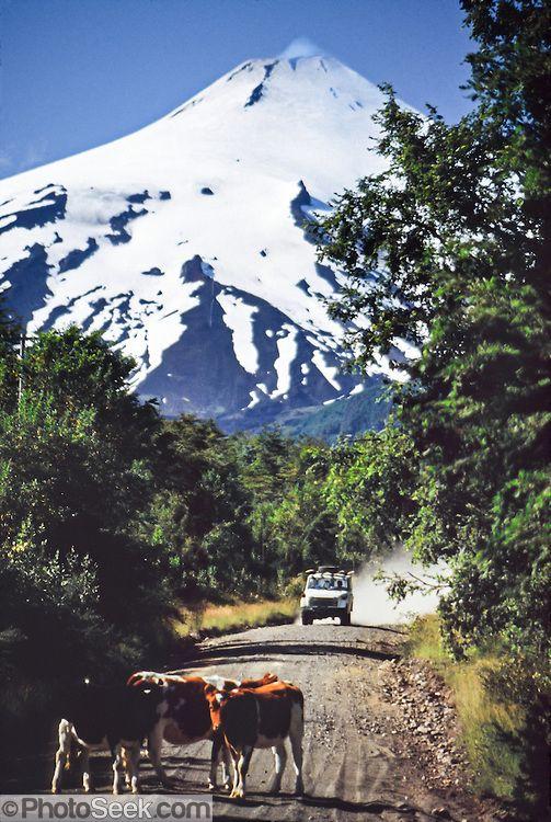 Villarrica Volcano, Villarrica National Park, Los Lagos Region, Chile