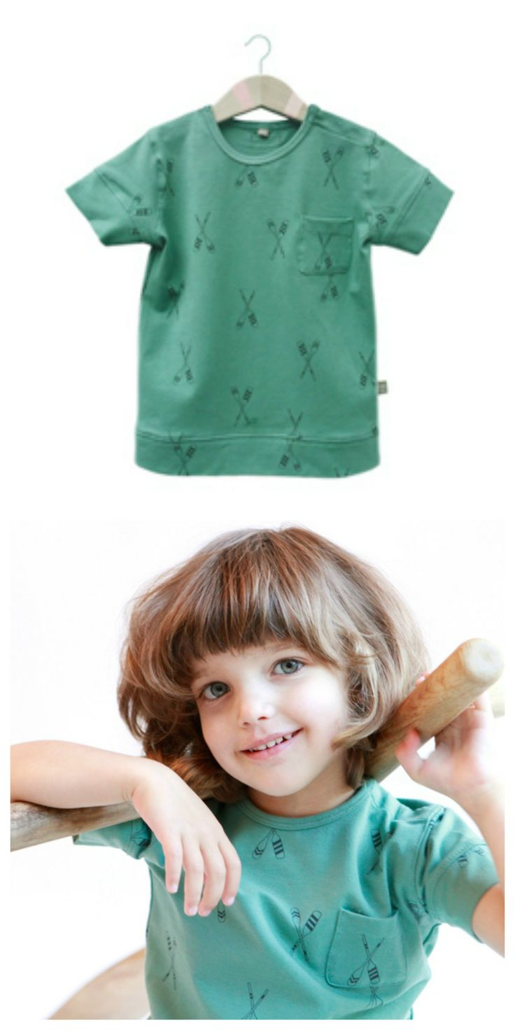 Oars mint-green Tshirt- lötiekids