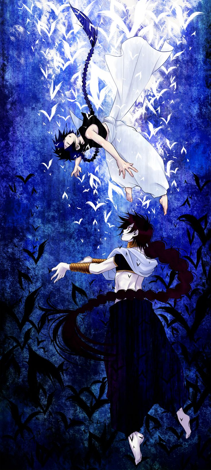 Aladdin & Judal | Magi: The Labyrinth of Magic | ♤ Anime ♤
