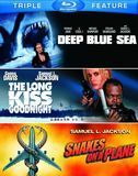 Deep Blue Sea/The Long Kiss Goodnight/Snakes on a Plane [3 Discs] [Blu-ray], 16485037
