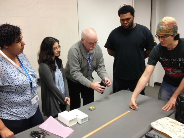 Students from CUNY's AstroCom NYC program meet for a weekly class at the American Museum of Natural History in New York City. Dennis Robbins...