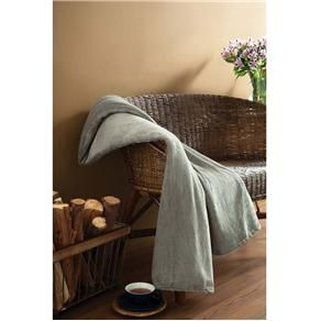 Cobertor Solteiro Parahyba Microfibra - Grafite
