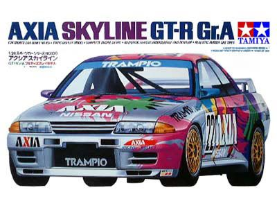 Boxart Nissan Skyline GT-R Gr. A 24109 Tamiya