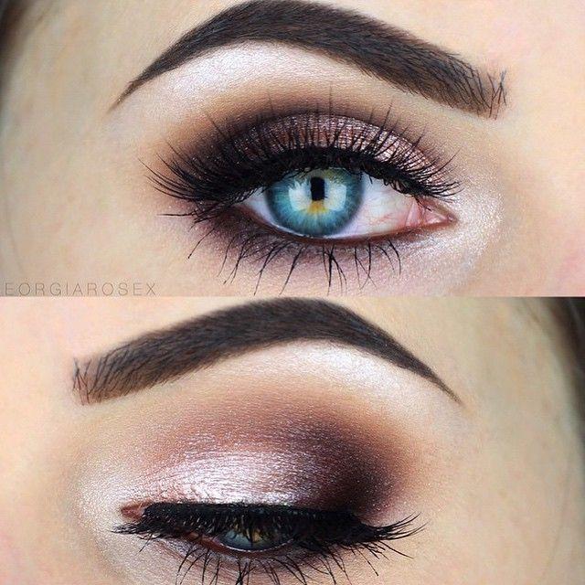 Amo maquiagens com tons de rosa clarinho