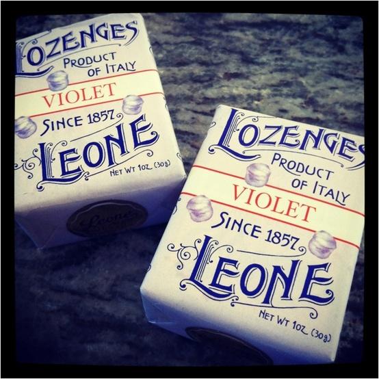 Torino: Italian Violet Sweets - Pastiglie Leone, Torino >> Sfoglia le Offerte!