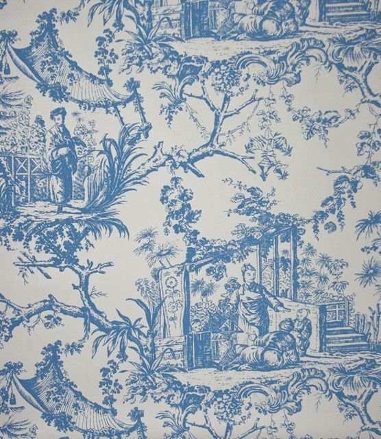 21 Best Toile Wall Paper Images On Pinterest: 17 Best Images About Chinoiserie Wallpaper And Fabric On