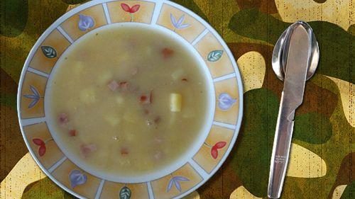 Zupa grochówka