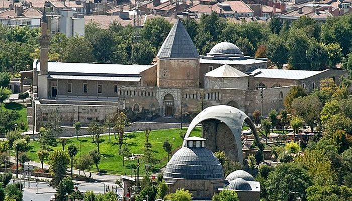 6. Konya  Konya is a city steeped in history. This Turkish city is famous for being the hub of ancient poets and writers, such as the great poet of Rumi. On your way there, don't forget stopping off at Tuz Lake.