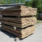 Reclaimed barnwood, processed and ready to go out
