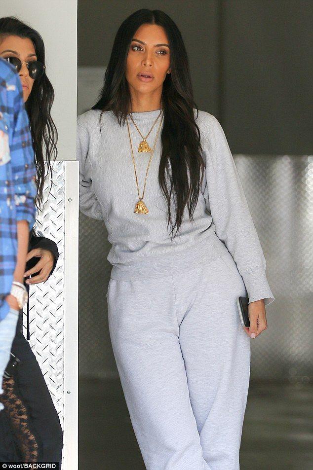 Unimpressed: During Sunday's episode of Keeping Up With The Kardashians , Kim Kardashian e...
