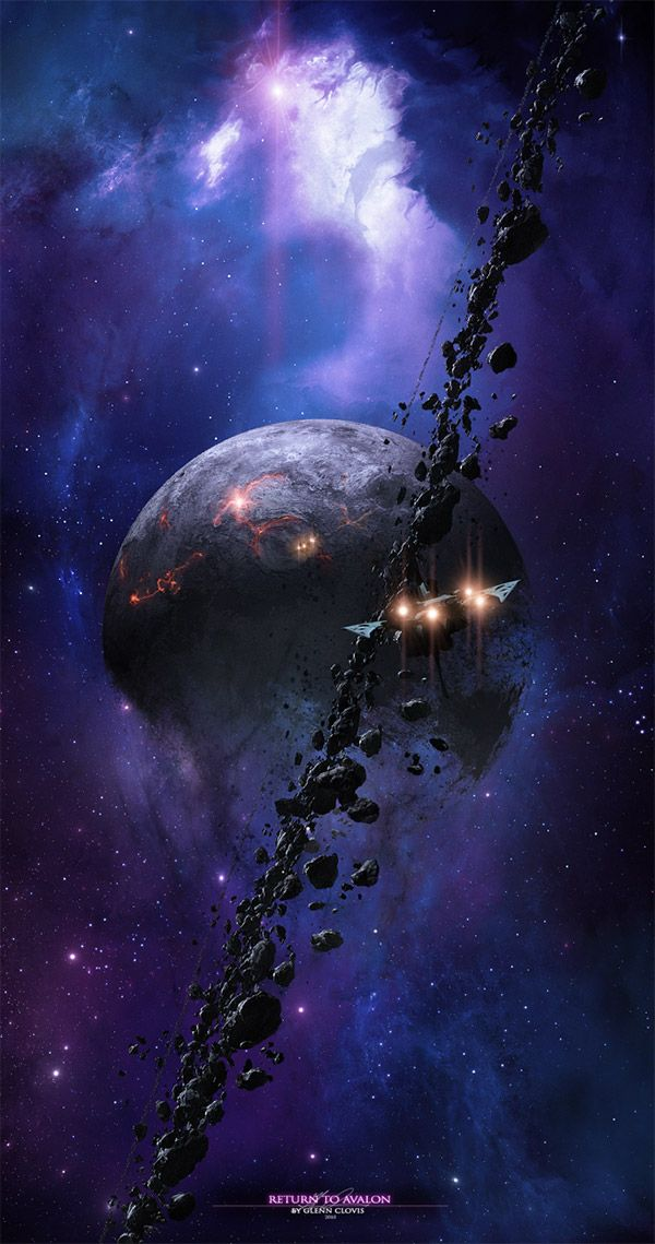 Iphone 6 Space Wallpaper 25 Mind Blowing Space Art Concepts Of Cosmic Scenes