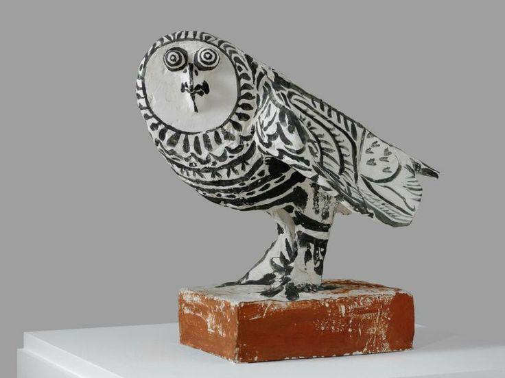 """Pablo Picasso, """"La chouette (The Owl)"""", 1952. Museum Ludwig, Cologne/Schenkung Ludwig, Photo: © Rheinisches Bildarchiv, Britta Schlier, © Bildrecht, Vienna, 2016"""