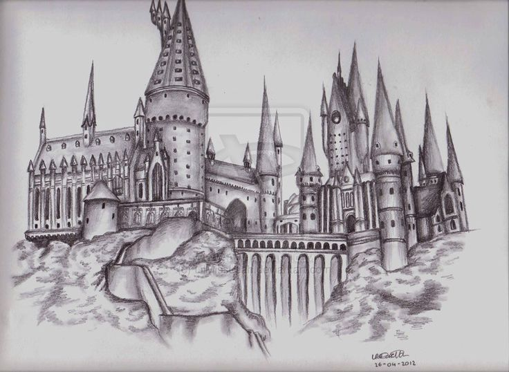 hogwarts drawing - Google Search