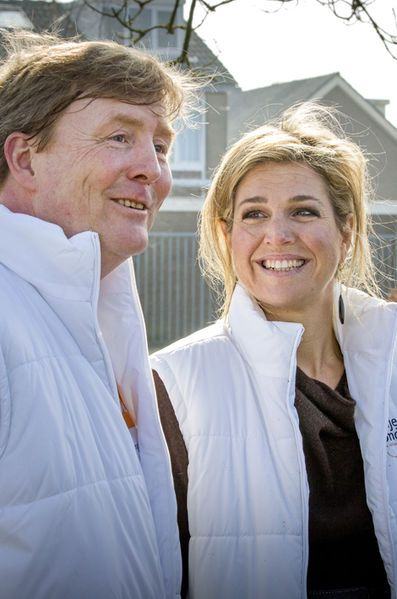 King Willem-Alexander and Queen Maxima at NL Doet 2016