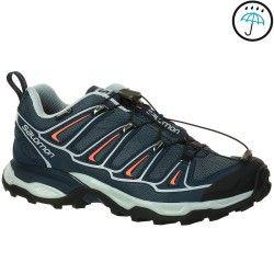 Chaussures de randonnée femme Salomon X Ultra Gore-tex gris/bleu
