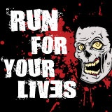 Zombie-infested 5k obstacle course race: Run For Your Lives  Go Aunt Dawn we are behind you 100%!