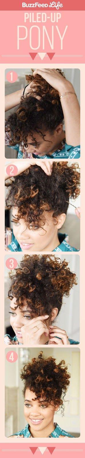 21 passo a passos de diferentes penteados http://vialactealeatoria.blogspot.com.br/2016/04/21-passo-passo-de-diferentes-penteados.html #passo #a #passo #cabelo #tutorial #diy #cachos #afro #africano #liso #mulher #brasil #post #postagem #ideia #faculdade #look #beleza #mechas #longo #curto #menina #escola