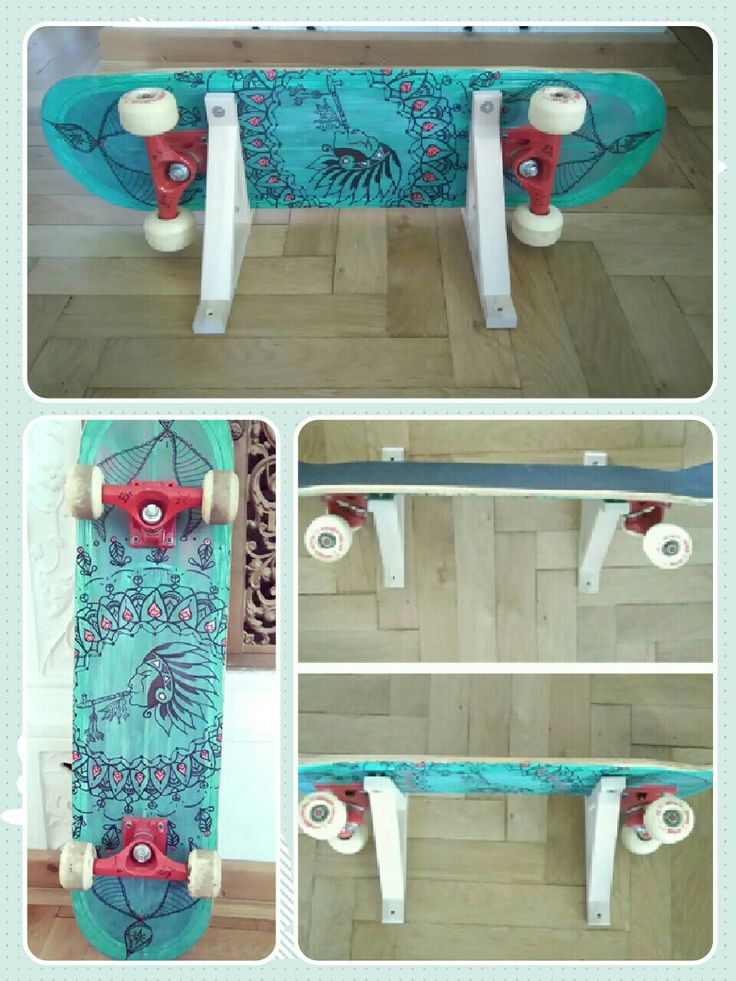 Popular DIY upcycling Skateboard Regal uc https ebay kleinanzeigen