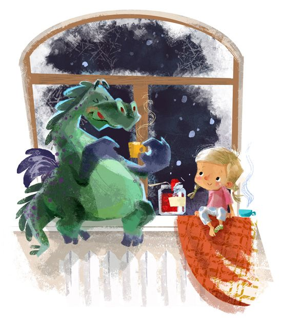 Dragon Tales by Anna Chernyshova