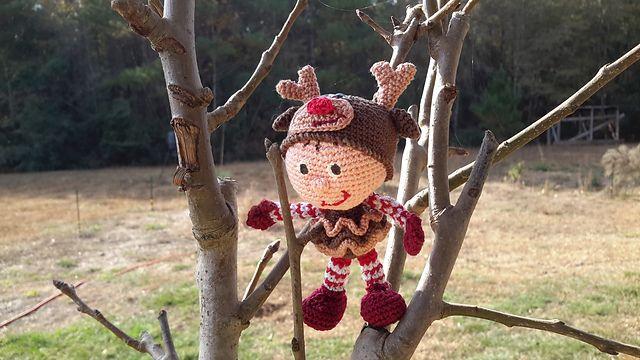 Ravelry: jodnls' Snowgirl reindeer