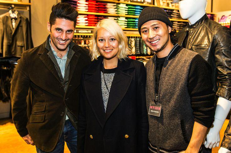 #NYLON x Express Store Grand Opening - NYLON's Jay Errico, #Rachel #Wang, Mitsu Tsuchiya